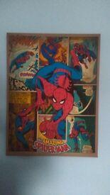 Large Spiderman marvel canvas