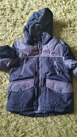 Brand new Marks and Spencers boys winter coat age 4-5 years