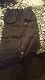 Dickies work trousers 32s