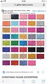 Glitter switches covers , light shades and glitter borders