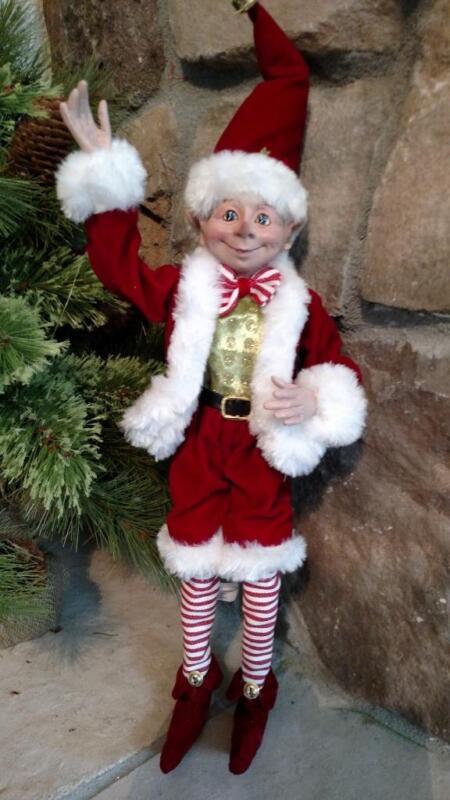 "NWT RAZ 15"" Santa"
