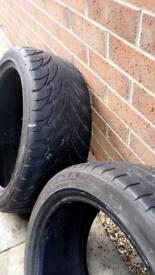 2 tyres 205 45 17