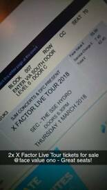 X Factor Live Tour SSE Hydro Glasgow