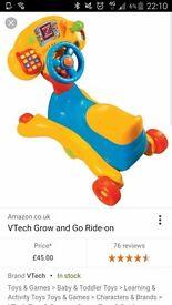Vtec 3 in 1 ride on bike