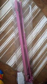Pink venetian blind 90 cm width