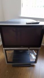 32 inch Toshiba TV on own stand/unit.