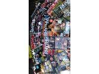 Rhythm Magazines Complete with dvd tutorials
