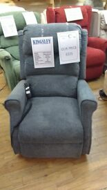 Kingsley Riser Recliner Chair, Delivery Available