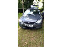 ford focus estate. engine a bit rattley and uses a bit of oil. lot of new parts.