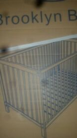 Brand new brooklyn baby's cot