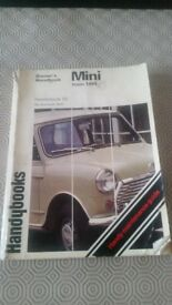 MINI OWNERS HANDBOOK FROM 1959
