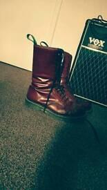 Solovair 14 Eye, Size 12 Boots, Steel toe
