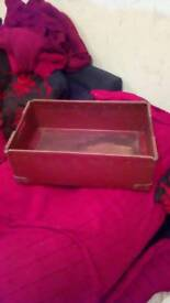 Vintage 1.5 ft x 1ft storage crate /tray /box