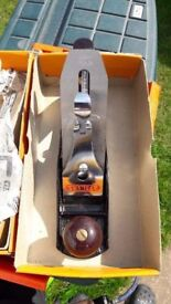 **VINTAGE HAND TOOLS**STANLEY WOOD WORKING No. 4 PLANE**BOXED**EXCELLENT CONDITION**BENCH READY**