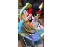 FisherPrice rainforest baby bouncer seat chair