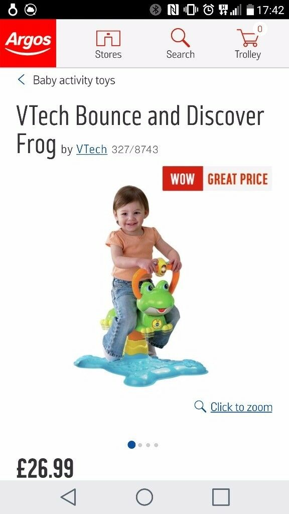 Bounce and discover frog