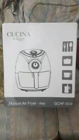 Manual air fryer