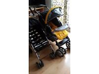 2 pushchair: comfortable and in very good condition.
