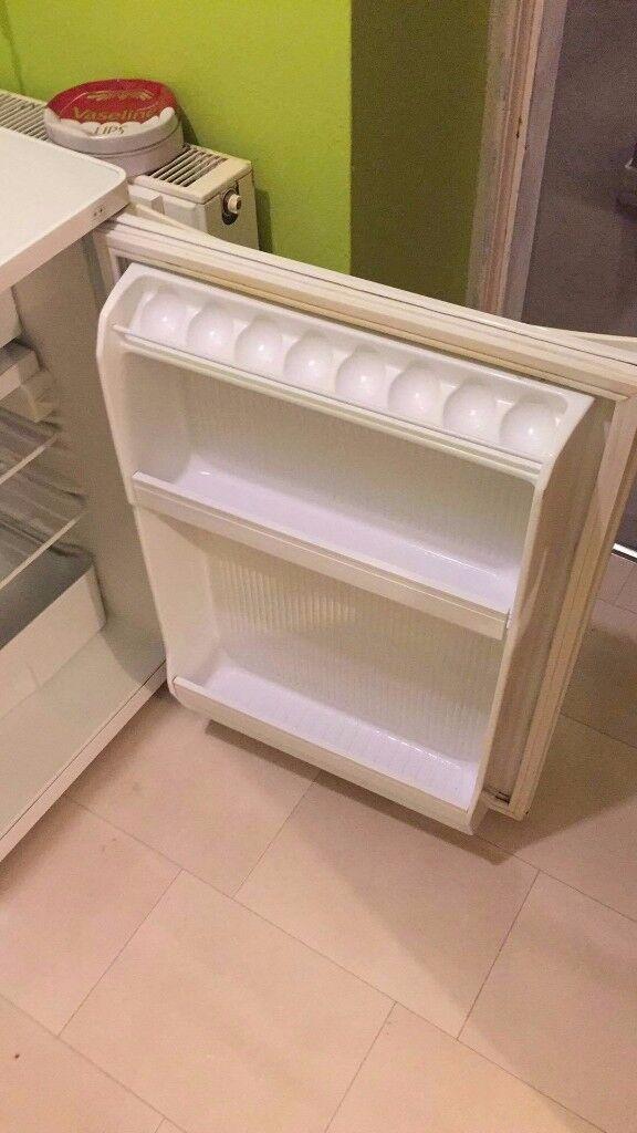Fridge with mini freezer