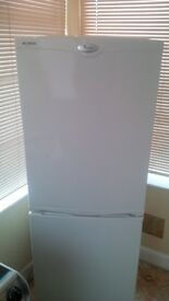 Whirlpool 50/50 fridge freezer/ good condition *