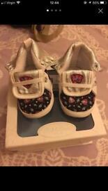 Ralph Lauren Baby shoes size 2,5
