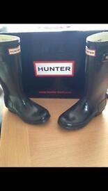 Hunter wellies - genuine boxed UK 1