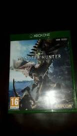 Xbox one Monster Hunter World