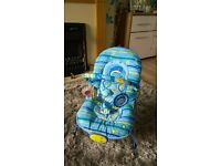 nearly new baby bouncer chair for sale