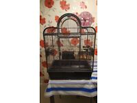 Bird Cage Santa Fe Top Opening Parrot Cage with Stand