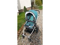 Uppababy vista pushchair package