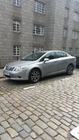 Toyota Avensis 2010 2.0 4D T2 Saloon low milage 46800.