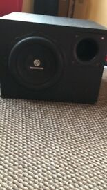 Car hifi 3000 watts subwoofer extremely loud an heavy in weight