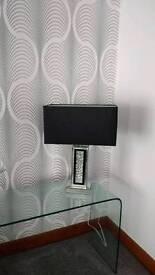 Large designer table lamp