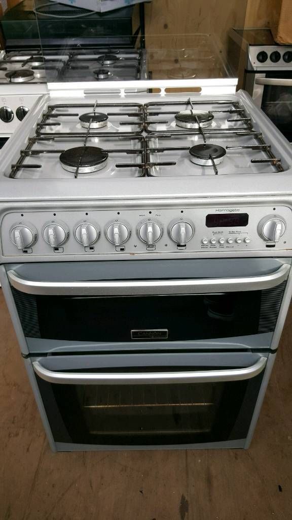 cannon/hotpoint 60cm gas hob & grill electric oven