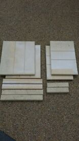 Selection of fire surround bricks