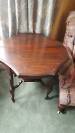 Vintage Table on casters