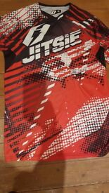 Jitsie Motorbike Trials Top- Size Medium