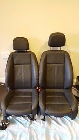 vauxhall astra 2009-2015 leather seats