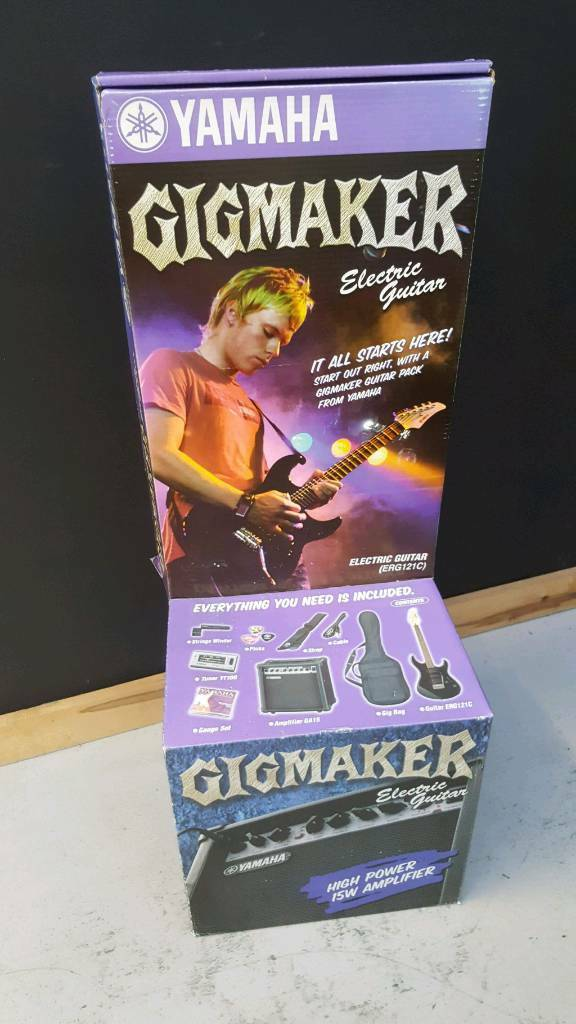Yamaha Gigmaker Electric Guitar Starter Package Vgc In Laindon