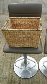 Small Wicker Basket - ratan storage bathroom