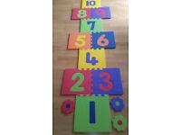 Playmat Foam Puzzle Floor Mat With Number Tiles