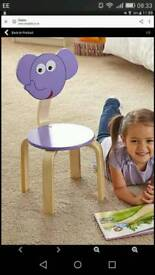 Kids elephant chair