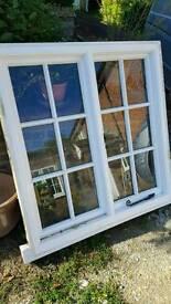 SOLID HARDWOOD WINDOW