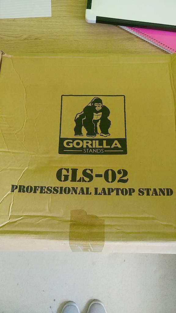 Gorilla laptop stand