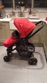 Graco Evo Stroller Pushchair - Chilli Red
