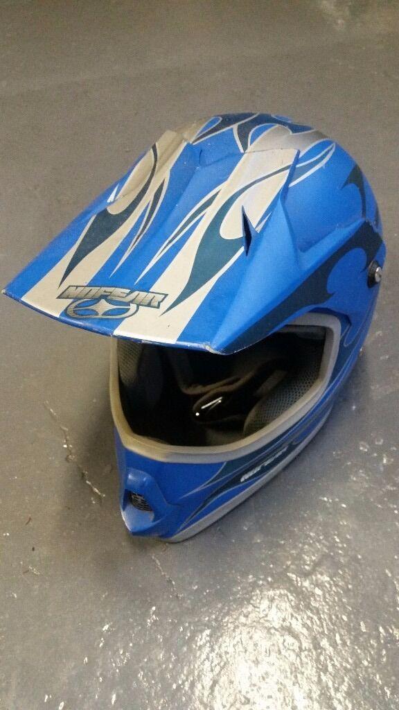 No fear motorcycle/motocross helmet