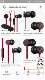 Ur beats by dre black and red paid 90 three weeks ago but wont do refund or exchage,from hmv