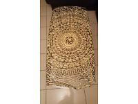Round arabic style table cloth