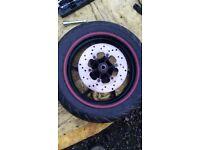 Piaggio NRG Power Front Wheel