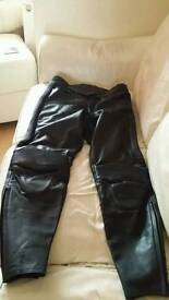 Motorbike leather bottoms